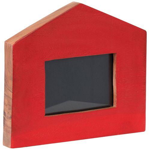 Cechy i korzyści: Ramka do zdjęć w kształcie domu, z miejscem na 1 zdjęcie o wymiarze 10 x15cm. Forma i kształt ramki dodają jej funkcję dekoracji – ładnie wygląda na regale lub półce. Ramka malowana ...