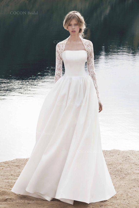 Wedding Dress Designer Wedding Dress Gown Wedding Dress Modern Etsy Long Sleeve Wedding Dress Lace Wedding Dresses Designer Wedding Dresses