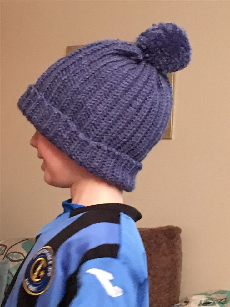 Made my son a bobble hat!