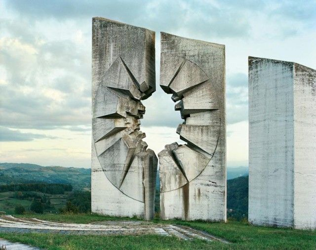 "The Yugoslavian monuments known as ""Spomenik"" are another incomparable Eastern entry"