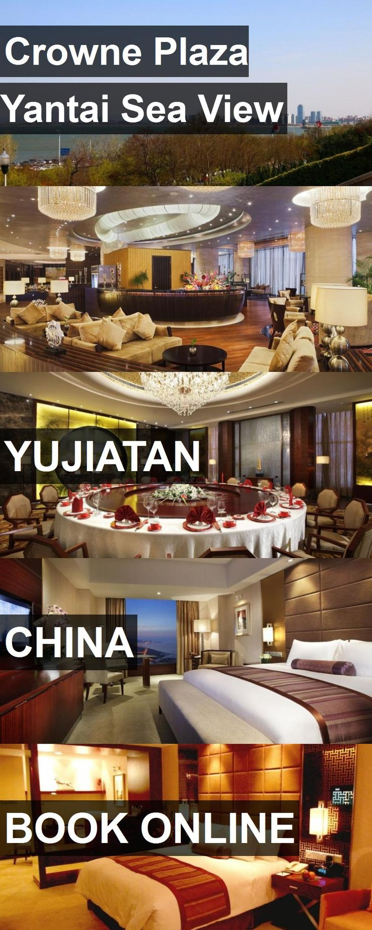 Hotel Crowne Plaza Yantai Sea View in Yujiatan, China. For more information, photos, reviews and best prices please follow the link. #China #Yujiatan #CrownePlazaYantaiSeaView #hotel #travel #vacation