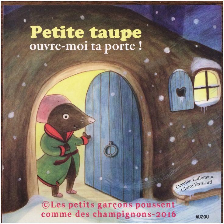 Découvrez un livre pour enfant qui véhicule de jolie valeurs de solidarité et d'humanité, même si c'est une taupe le personnage principal !