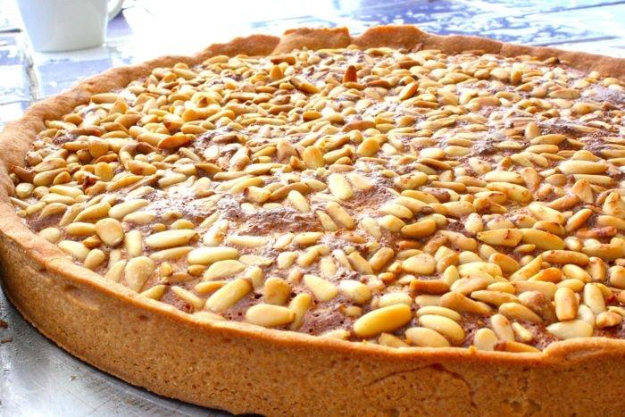 Pine nut tart | Recipes: Dessert - Brownies | Pinterest