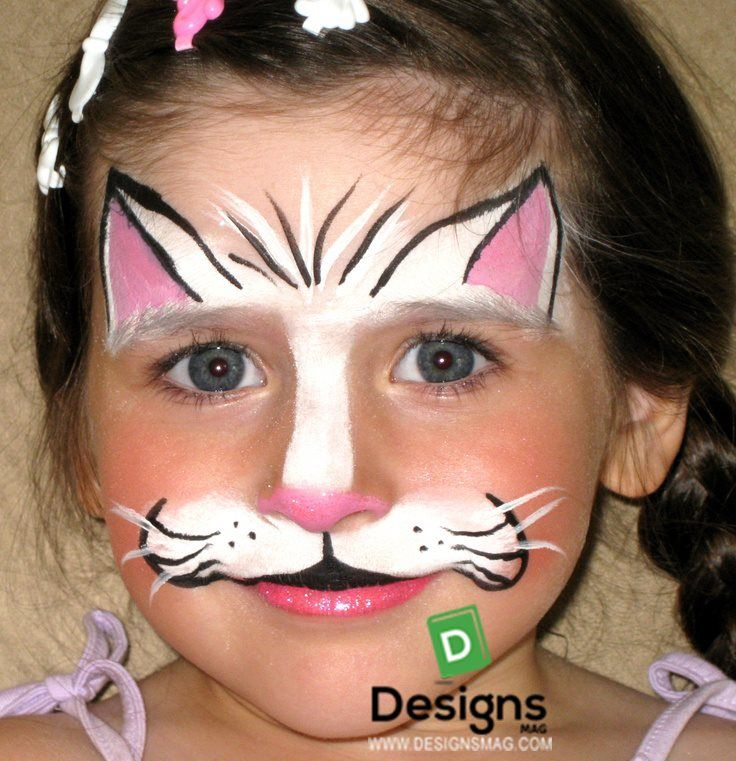 1000 ideas about kitty face paint on pinterest butterfly face paint face painting designs. Black Bedroom Furniture Sets. Home Design Ideas