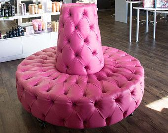 Brilliant Round Sofa Circular Sofa Tufted Round Banquette Lobby Booth Ncnpc Chair Design For Home Ncnpcorg