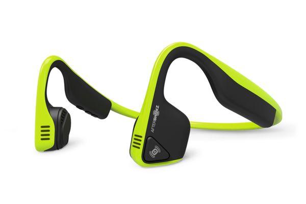 AfterShokz TREKZ TITANIUM Color: Bluez2 Headphones that deliver unrivaled situational awareness and comfort.