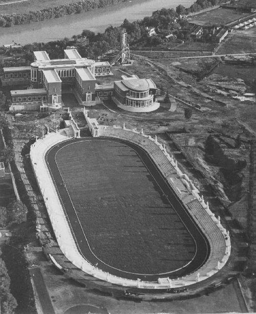 stadio dei marmi, Foro Mussolini, Roma, 1928-30, Archivio E. Del Debbio, MAXXI architettura