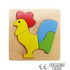 Puzzle lemn - Cocos