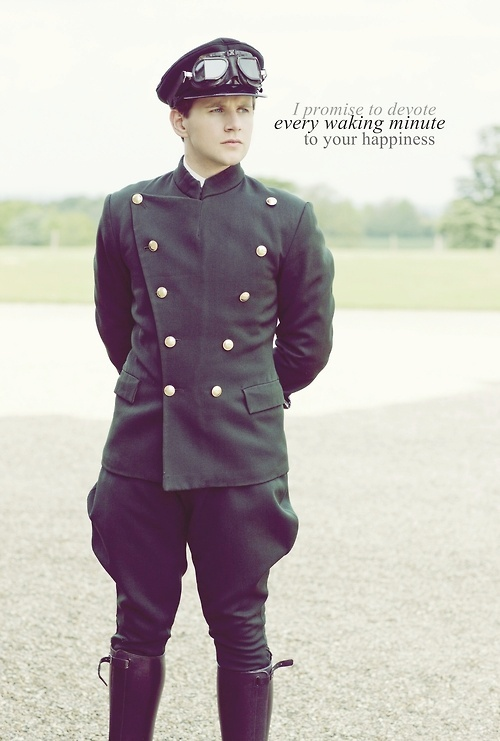Tom Branson (Allen Leech) - Downton Abbey. I love him and his beautiful Irish accent.