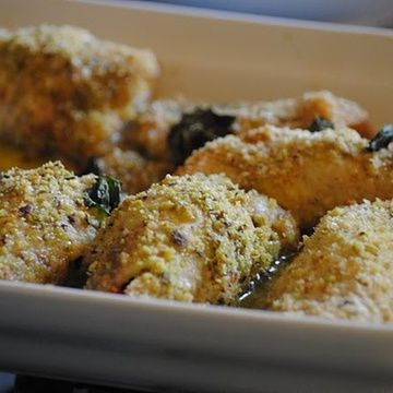 involtini di pesce spada alla messinese, swordfish rolls, sicilian food