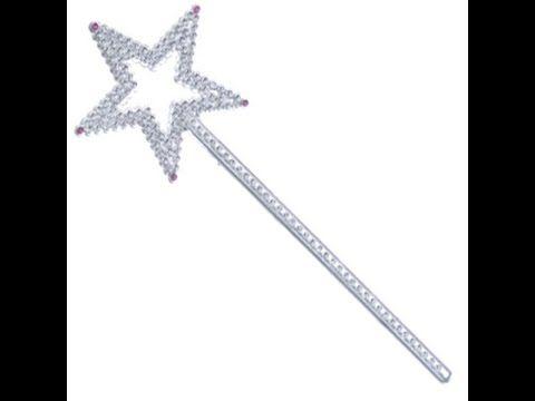 Новогодняя волшебная палочка своими руками. Как сделать волшебную палочку