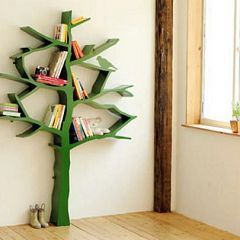 tree bookshelf. This may be the coolest children's room idea ever. I'm in love.