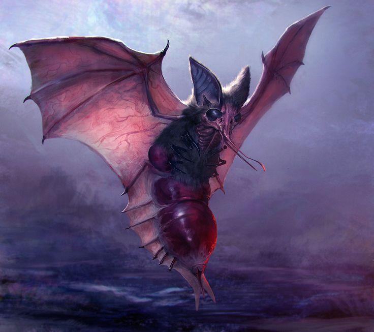 Blood Bat by mythrilgolem1.deviantart.com on @DeviantArt ...