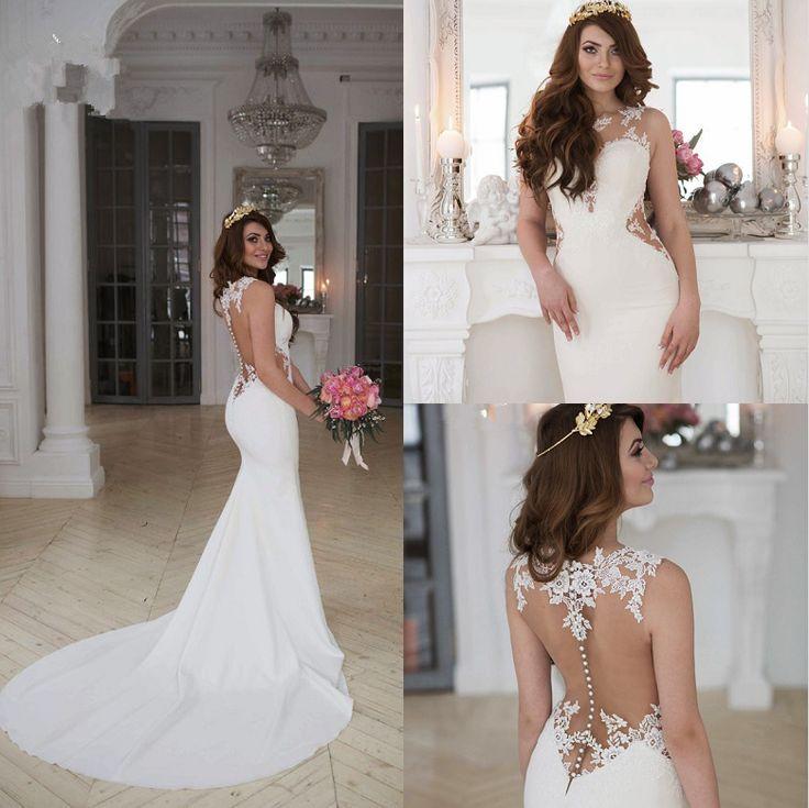 Hochzeitskleid meerjungfrau gunstig