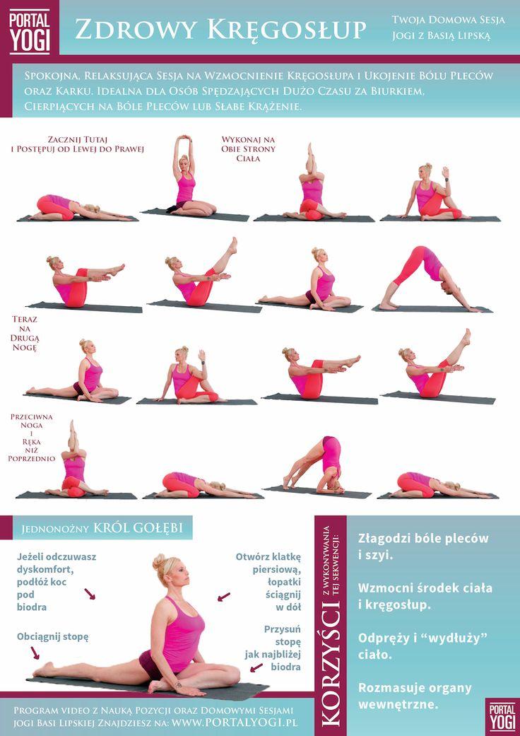 Wykonuj je 3 razy w tygodniu aby wzmocnić swój kręgosłup i wyeliminować ból