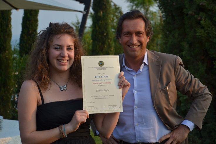 Sofia e Dott. F. Montresor Serata di Gala 29/5/2012