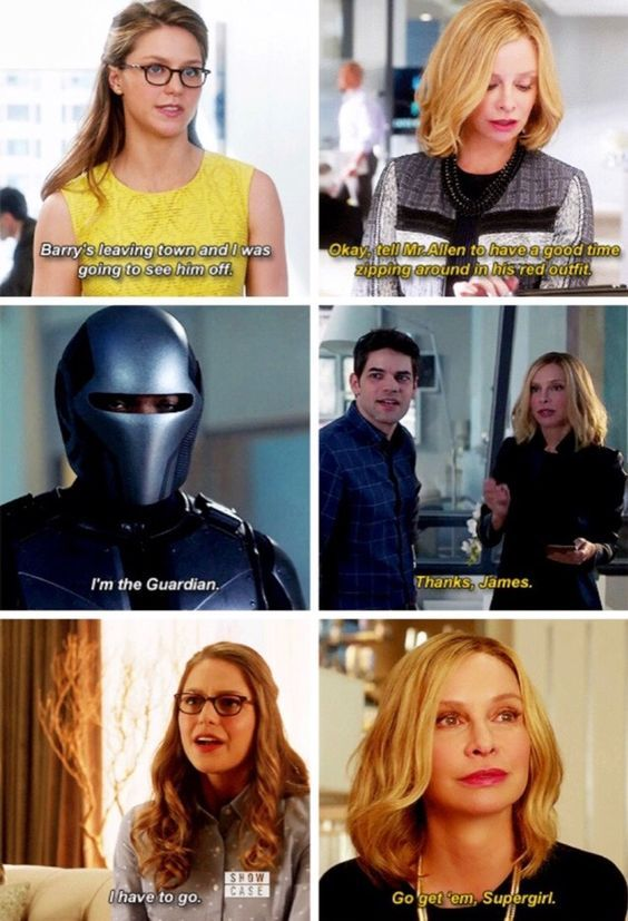 Cat Grant is so much smarter than she lets on to be!