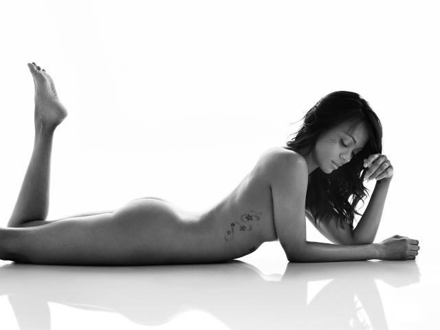 Zoe Saldana naked on Women's Health UK cover  Zoe is perfection! #loveher