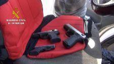 Siete detenidos por transformar armas detonadoras en armas de fuego