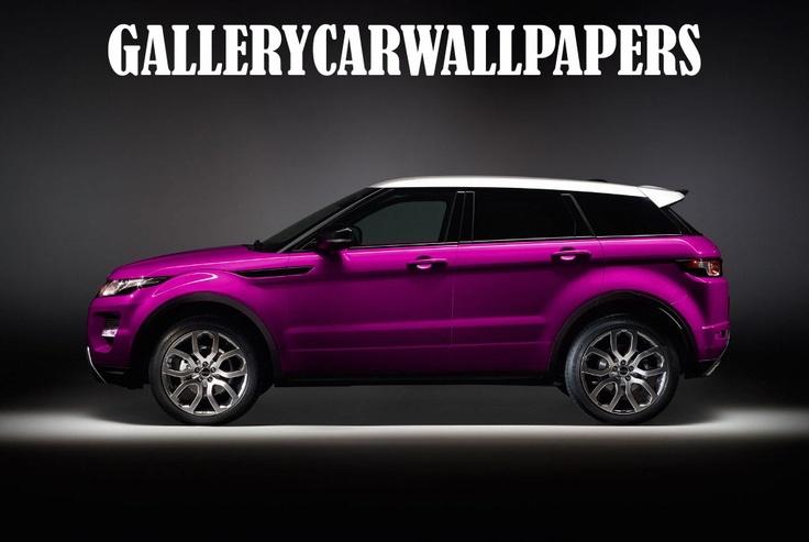 Purple Range Rover Evoque Amazeballs Vroom Vroom
