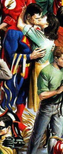 Supermam and Lois Lane