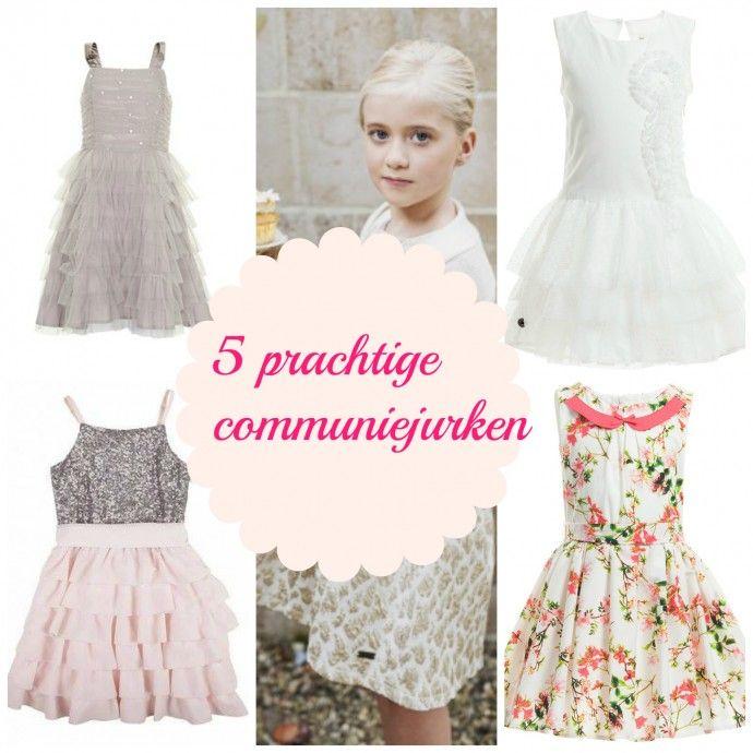 5 #communie jurken
