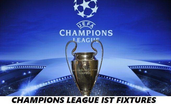 Champions League IST Fixtures