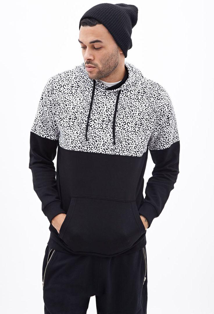 Animal print hoodies