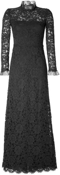 Valentino Lace Long Sleeve Evening Gown http://creativelymindful.blogspot.com/