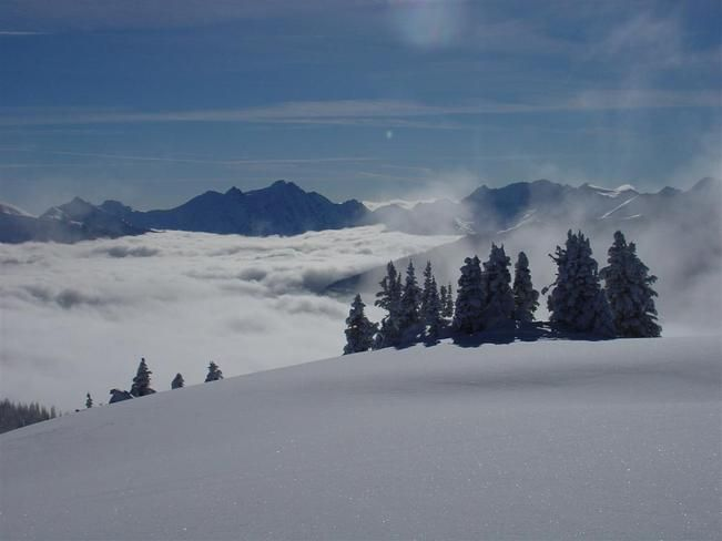 Above the clouds // by Don Hunt, Kaslo, BC
