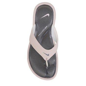 eeb9c3b98be4 Nike Women s Ultra Comfort Thong Sandal- Barely Rose  Gunsmoke