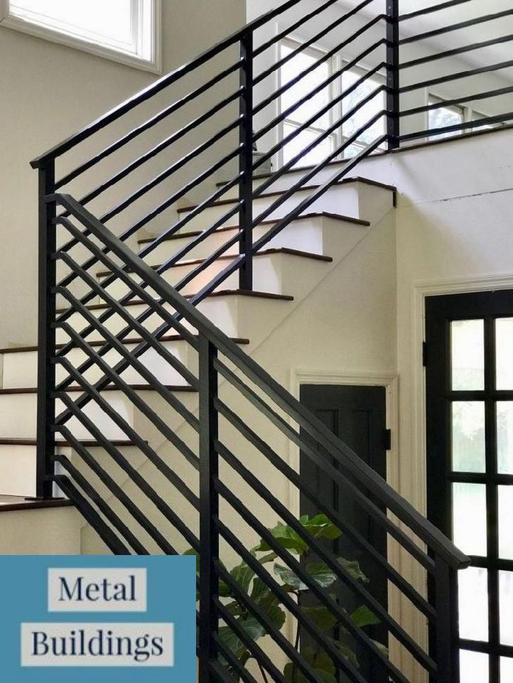 Metal Building Cost Per Square Foot And Metal Buildings With Lean | Iron Stair Railing Cost | Wrought Iron Balusters | Deck | Stair Parts | Banister | Stair Treads