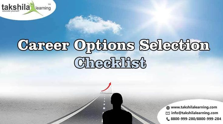 Choosing-a-career-path, How to Choose Best Career Options After 12th? Checklist #careeroption #takshilalearning