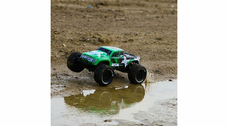 ECX Ruckus Monster Truck 2WD 1/10 RTR Zielony www.germanrc.pl