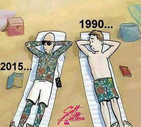 True. Things change