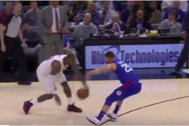 LeBron James embarrassed Austin Rivers right in front of Doc Rivers