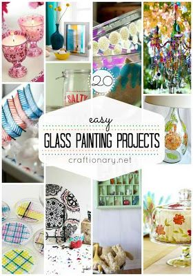 Easy DIY Glass Painting Projects