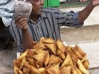 Mmmmm, Samosas. Really missing South African food right now.