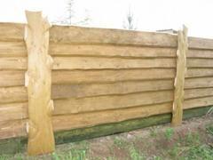 Деревянный забор - доска обрезная или лучше строганная? - Дачный Форум