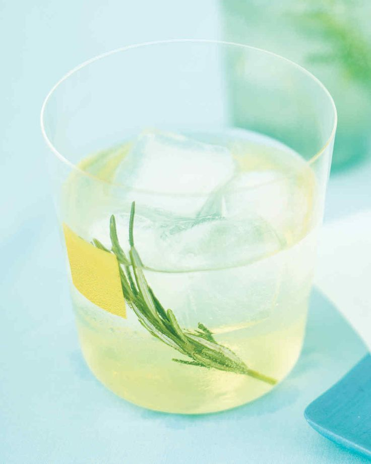 Traditional vodka tonics get a makeover, thanks to an infusion of rosemary and the addition of herbal Chartreuse.