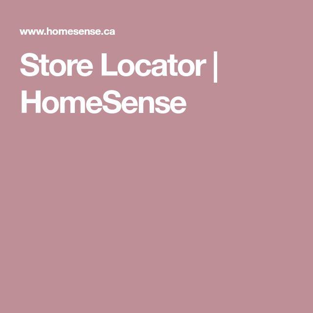 Store Locator | HomeSense