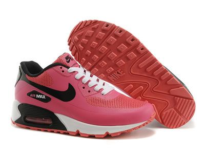 free shipping by dhl discount uncostly nike air max 90 hyperfuse shoes pink black white on