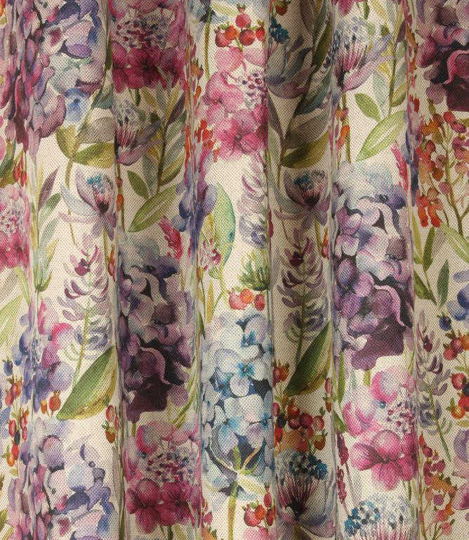 Save 20% on our Wisteria Hydrangea Contemporary Fabric from Voyage Decoration; perfect for creating Curtains & Blinds.