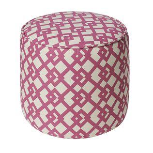 Jennifer Taylor Marina pink ottoman