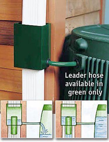 Downspout Diverter, Rain Barrel Diverter | Gardener's Supply
