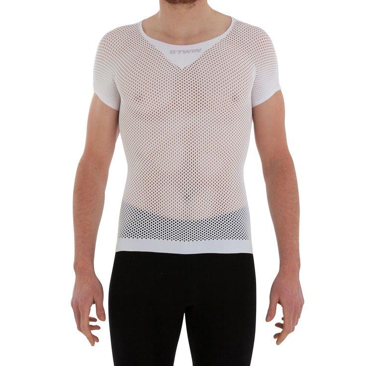 Sous-vêtement sans manches vélo homme 700 blanc - Sous-vêtements vélo homme et…