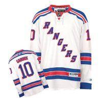New York Rangers #10 Marian Gaborik White Premier NHL Jersey
