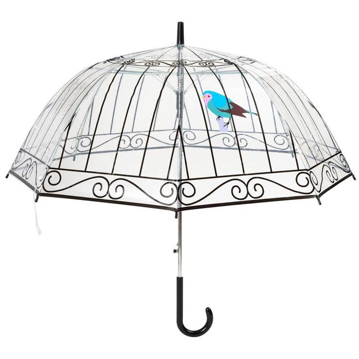 Parapluie Cage à Oiseaux