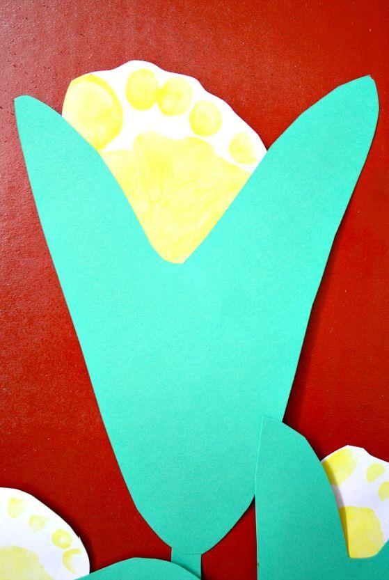 Corn Footprint Craft