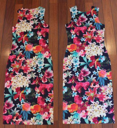 Fremgangsmåte for kjole med blomster (SY DET SELV)